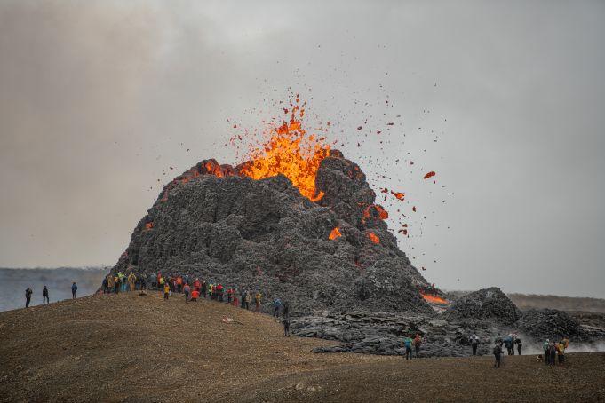 Impressive active volcanoes in Europe