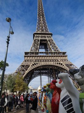 United Buddy Bears show in Paris - image 2