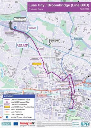 Dublin's Luas link gets green light - image 2