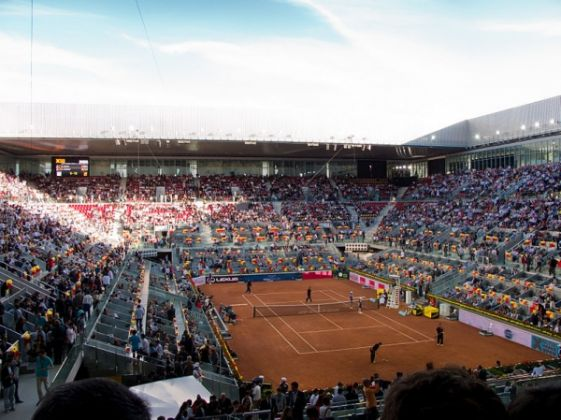 Mutua Madrid Open gives up blue clay - image 2