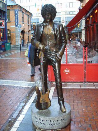 Dublin's Phil Lynott statue vandalised - image 3