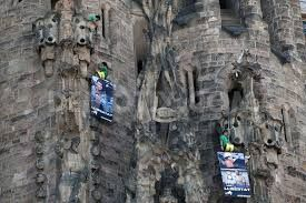 Greenpeace activists scale the Sagrada Familia in protest - image 1