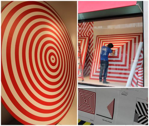 Dublin street artist decorates Brown Thomas - image 2