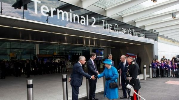 Queen opens Heathrow's new Terminal 2 - image 1