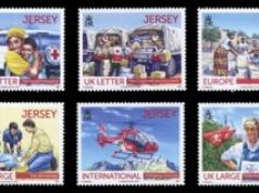 Jersey releases Red Cross stamps