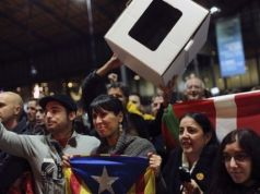 Catalonians vote for independence