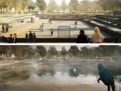 Copenhagen designs floodable park