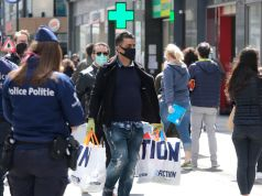 Belgium in lockdown as from Monday due to covid-19 pandemic