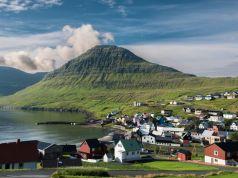 The Faroe Islands in spring