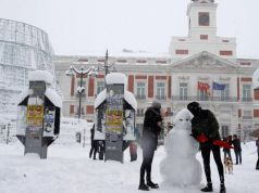 Storm Filomena: Spain smashes snowfall records after historic blizzard