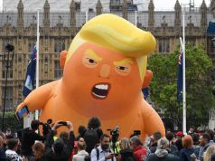 Satirical 'Baby Trump' balloon finds home at the Museum of London