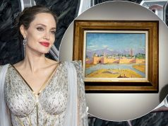 Angelina Jolie sells Winston Churchill painting for £7m