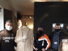 Off-duty Italian Carabinieri discover statue stolen from Rome in Brussels