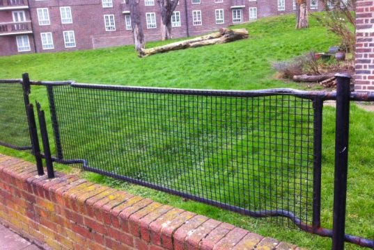 Campaign to save London's stretcher fences