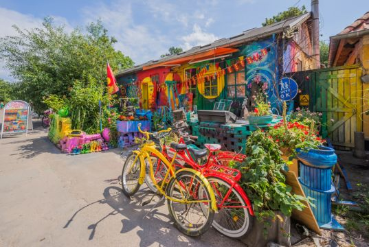 The anarchist commune of Freetown Christiania