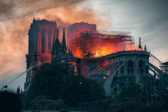 Notre Dame to be reconstructed following original design