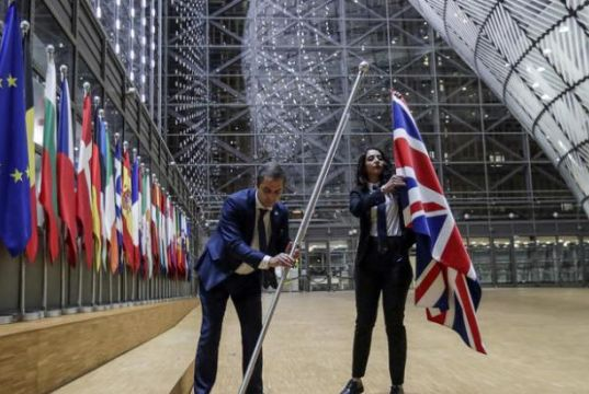 The UK refuses to grant EU diplomats full status and privileges