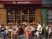 Smoking in Paris cafes