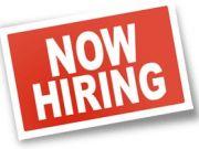 Job vacancies.