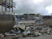 Dublin's Blackrock baths demolished