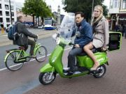 Amsterdam gets scooter taxis