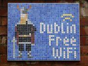 Free wi-fi in Dublin centre