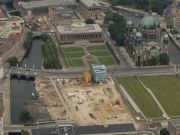 Berlin Palace gets cornerstone