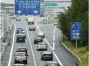 Fewer deaths on French motorways