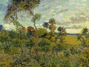 Van Gogh's Sunset at Montmajour unveiled in Amsterdam