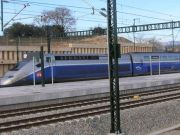 Barcelona to Paris via TGV