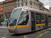 Work begins on Dublin's Luas Cross City line