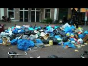 Rubbish strike in Amsterdam