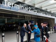 Queen opens Heathrow's new Terminal 2