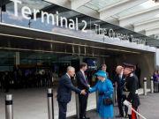 Queen opens Heathrow's new Terminal 2