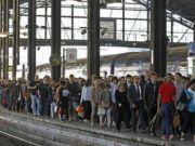 French rail strike