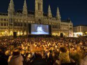 Music Film Festival at the Rathausplatz