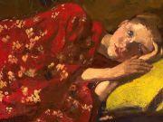 Breitner: Girl in Kimono