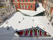 V&A Museum unveils new courtyard
