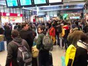 People flee Paris after Macron announces lockdown