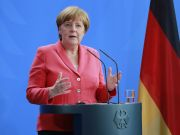 German Chancellor, Angela Merkel, is in quarantine