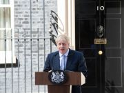Uk Prime Minister Boris Johnson announces lockdown