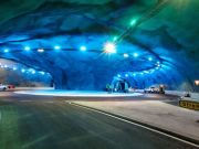 The Eysturoy tunnel opens in Denmark